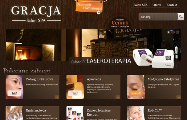 Gracja, Salon SPA