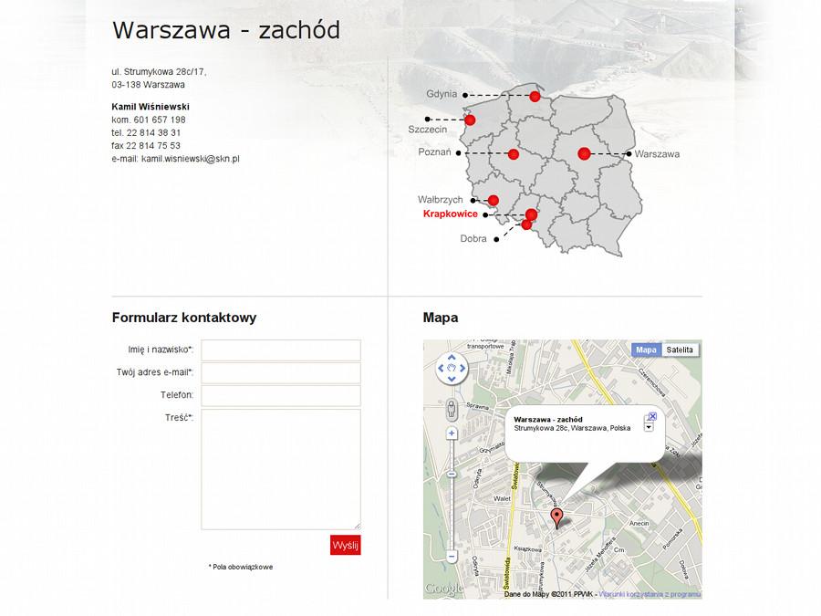Mapa kontaktów