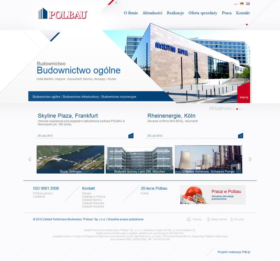 Strona główna serwisu firmowego